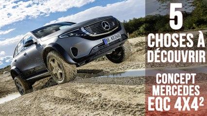 Mercedes EQC 4x4², 5 choses à savoir sur le franchisseur 100% électrique
