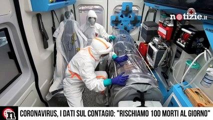 """Coronavirus, l'allarme dell'ISS: """"Tra due settimane 100 morti al giorno per Covid"""""""