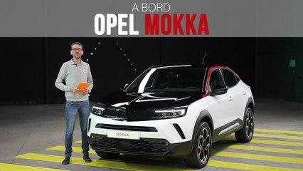A bord de l'Opel Mokka (2020)