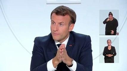 Covid-19 : Emmanuel Macron annonce un couvre-feu