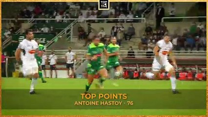 TOP OF THE TABLES - Matchday 5 - TOP 14 - Season 20/21