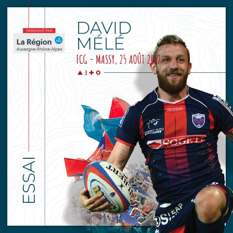 Rugby : Video - L'essai de David Mélé contre Massy, saison 2017-2018