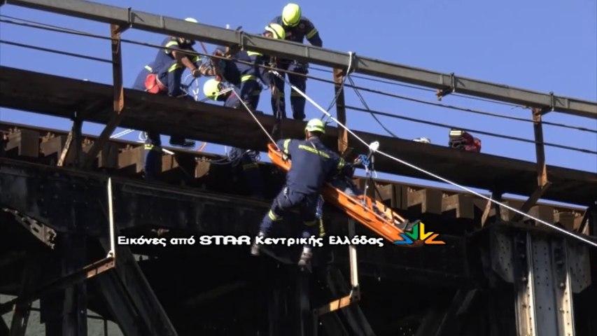 Άσκηση της 7ης ΕΜΑΚ στην γέφυρα του Γοργοποτάμου
