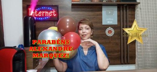 FELIZ ANIVERSÁRIO ALEXANDRE MARQUEZ!