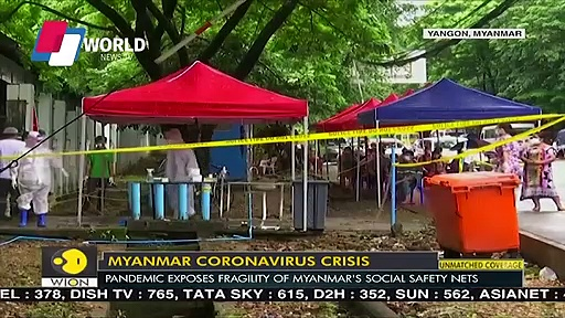 Myanmar's coronavirus crisis – Virus drags poor families to the edge – WION News – World News