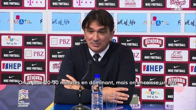"""Croatie - France : """"On joue contre une équipe qui vaut un milliard"""" souligne le sélectionneur croate"""