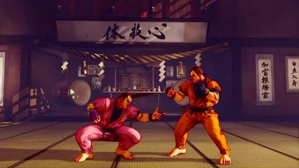 Street Fighter V Season V - Dan Character Preview
