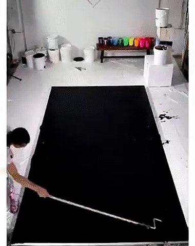 Creative way to make art