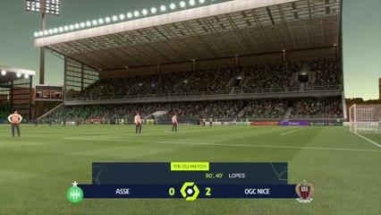 ASSE - OGC Nice : notre simulation FIFA 21 (L1 - 7e journée)
