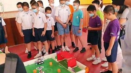 丹中华三校 下月6日机器人大赛
