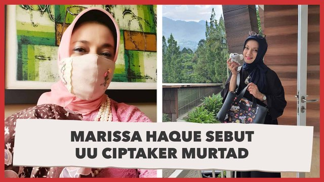 Marissa Haque Sebut UU Ciptaker Bikin Murtad