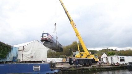 58 foot narrowboat launched on the Leeds and Liverpool canal in Chorley