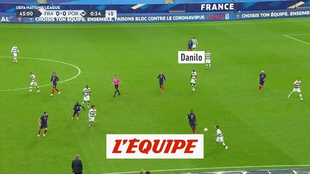 Focus sur Danilo : Position défensive - Foot - L1 - PSG