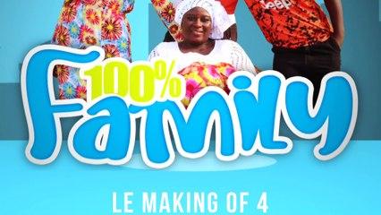 TIC TAC… Restez connectés sur 100%Afriq.tv … Making of 4 C'est Ismael KOKO