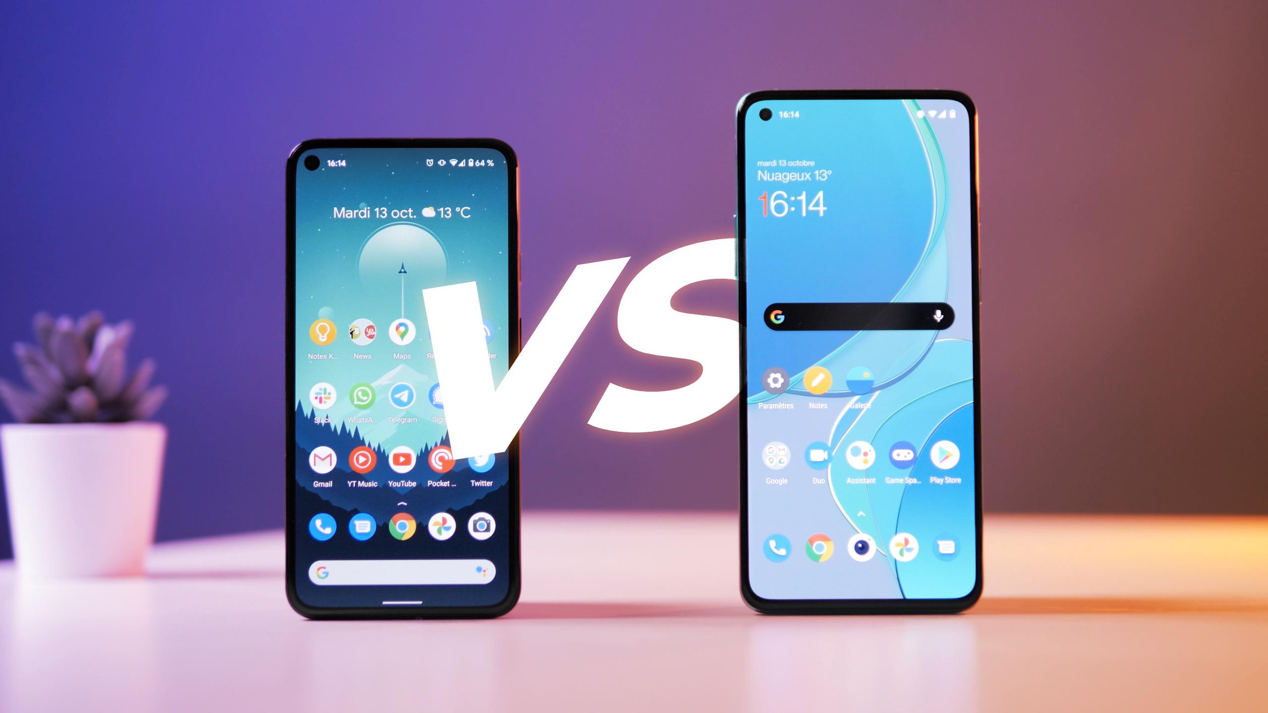 OnePlus 8T vs Google Pixel 5 - deux philosophies DIFFÉRENTES ! (TEST et comparatif)