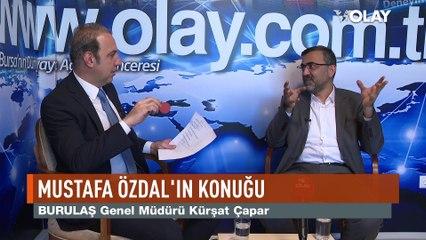 BURULAŞ Genel Müdürü Kürşat Çapar, OLAY Gazetesi Yazarı Mustafa Özdal'ın konuğu oldu.