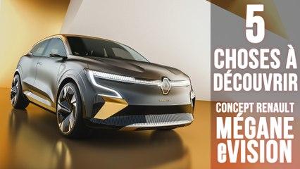 Renault Mégane eVISION, 5 choses à savoir sur la future Renault 100% électrique