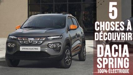 Dacia Spring, 5 choses à savoir sur la citadine low-cost zéro émission
