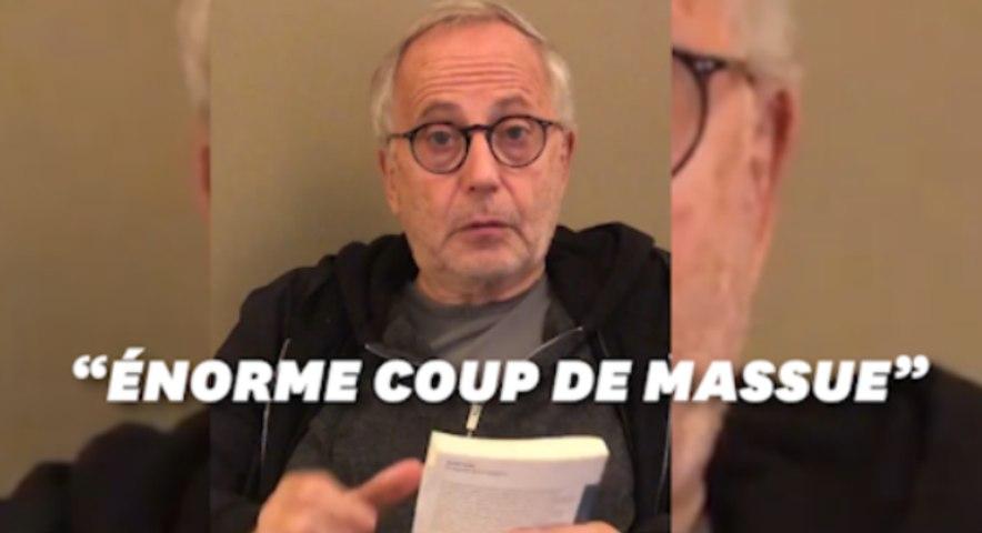 Fabrice Luchini rend hommage aux restaurateurs face au couvre-feu