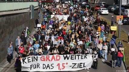 ناشئون ألمان: كوارث المناخ ليست أقل أهمية من كورونا