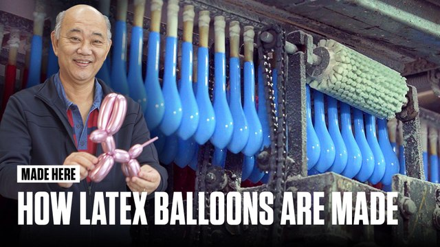 Latex Balloons Made in Brazil | MADE HERE | Popular Mechanics