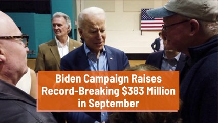 Biden Is Backed By Big Money