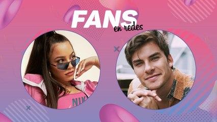 Emilia y Andrés Ceballos (Dvicio) en Fans en redes