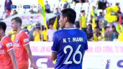 Phan Văn Đức vs. Văn Toản | Màn tay đôi thú vị trước thềm trận đấu SLNA - Hải Phòng FC | VPF Media