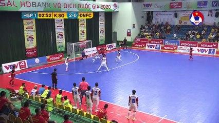 Highlights | Kardiachain Sài Gòn - Đà Nẵng | Futsal HDBank VĐQG 2020 | VFF Channel