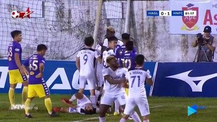Highlights - HAGL - Hà Nội FC - Đại thắng 4 sao, Quang Hải khiến Văn Toàn -ôm hận- - NEXT SPORTS