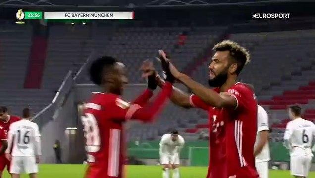 Première réussie : Choupo-Moting s'offre un doublé avec le Bayern