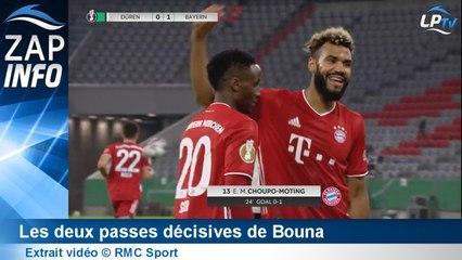Zap OM : la double passe décisive de Bouna au Bayern !