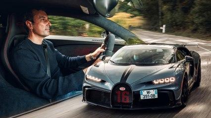 Essai Bugatti Chiron Pur Sport (2020)