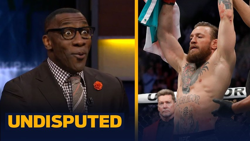 Skip & Shannon on Conor McGregor coming out of retirement to fight Dustin Poirier