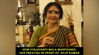 How Vyajayanti Mala maintained her prestige in front of  Dilip Kumar