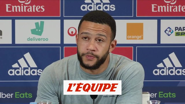 Depay : «Fier d'être le capitaine de l'OL» - Foot - L1 - OL