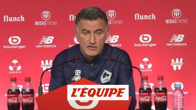 Galtier : «Tout le monde a envie de jouer un derby» - Foot - L1 - LOSC