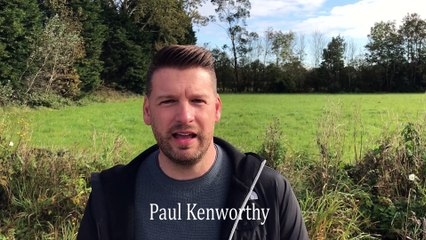 Paul Kenworthy,  of Turbary wants to turn former nursery site into a recreation area