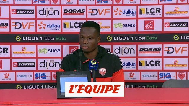Allagbé : «On a bousculé cette équipe de Rennes» - Foot - L1 - Dijon