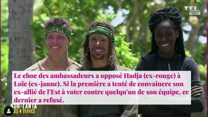 Koh-Lanta : un choc des ambassadeurs fatal pour Marie-France, Hadja éliminée