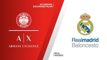 AX Armani Exchange Milan - Real Madrid Highlights | Turkish Airlines EuroLeague, RS Round 4