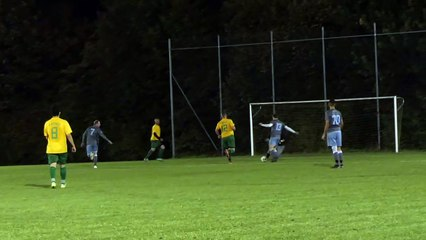 Das 2:0 der SG Settmarshausen/Mengershausen/Groß Ellershausen/Hetjershausen II - gegen die SG Niedernjesa