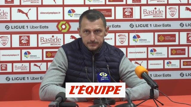 Arpinon : «C'est très dur» - Foot - L1 - Nîmes