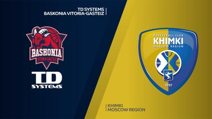 TD Systems Baskonia Vitoria-Gasteiz - Khimki Moscow Region Highlights | EuroLeague, RS Round 4