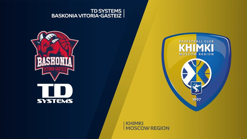 TD Systems Baskonia Vitoria-Gasteiz - Khimki Moscow Region Highlights | EuroLeague, RS Round 4
