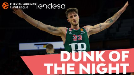 Endesa Dunk of the Night: Achille Polonara. TD Systems Baskonia Vitoria-Gasteiz
