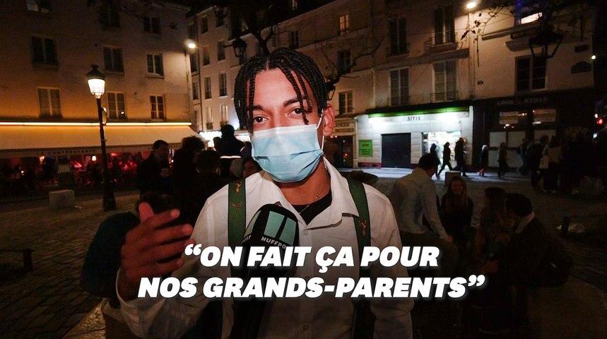 À Paris, la première nuit de couvre-feu respectée