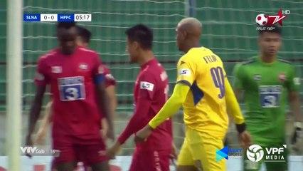 Highlights | SLNA – Hải Phòng FC | Vỡ òa phút cuối với bàn thắng quý như vàng | VPF Media