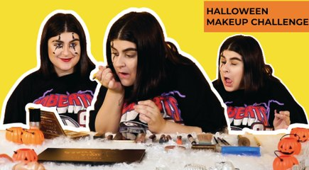 Halloween Make up challenge (OMAYA)