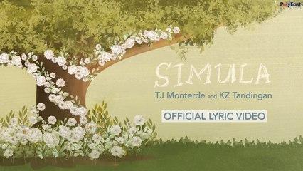 TJ Monterde, KZ Tandingan - Simula - (Official)